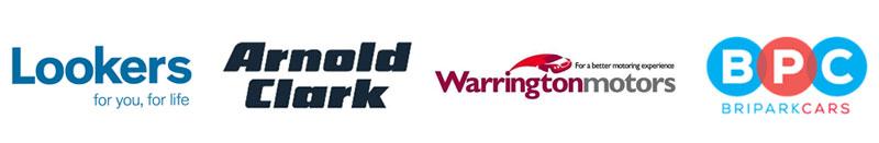 Lookers, Arnold Clark, Warrington Motors, Bripark Cars