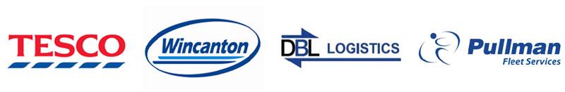Tesco, Wincanton, DBL Logistics, Pullman Fleet Services